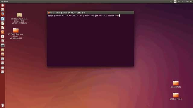 Install driver on Ubuntu part 1