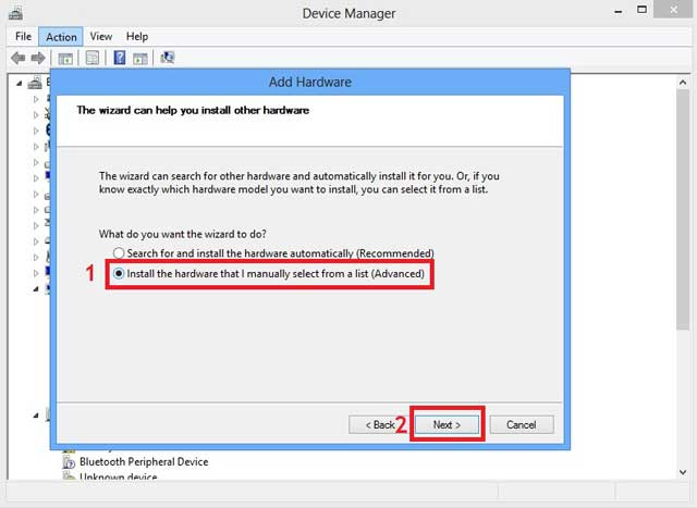 how to install the usb driver